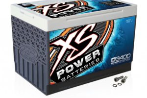 XS Power Battery 12V BCI Group 34 AGM